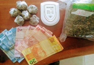 Anastácio: Polícia Militar prende jovem com diversas porções de maconha