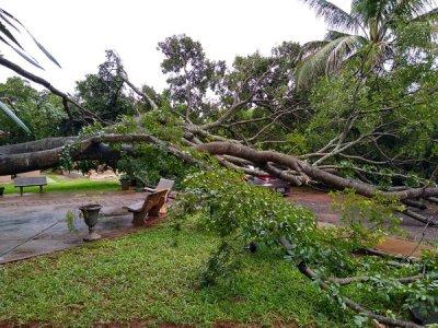 Chuva de ontem trouxe transtornos para Aquidauana e região- Foto divulgação