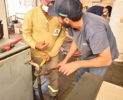 Hospital de Aquidauana recebe novos equipamentos para sua usina de oxigênio