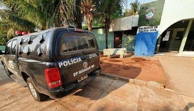 Acusado foi preso em Nioaque (Foto: Polícia Civil)